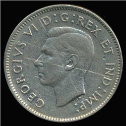 1939 Canada 5c Hi Grade AU Scarce (COI-6738)