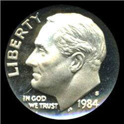 1999S Roosevelt Dime Graded PR70 DCAM (COI-4759)
