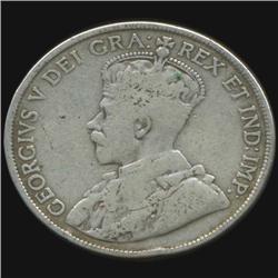 1919 Canada Half Dollar Hi Grade (COI-7018)