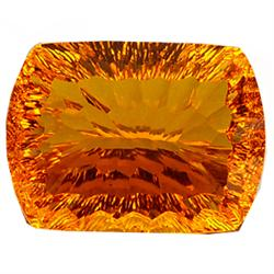 92.74ct Cushion Cut Orange Citrine (GEM-22904)