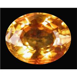 1.41ct  Flawless  Golden Sapphire Songea   (GEM-16034)