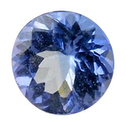 0.64ct Natural Brilliant Blue Tanzanite Round Hi Grade  (GEM-25571)