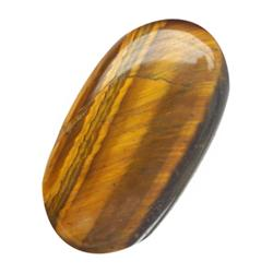 17.02ct Golden Tiger Eye Natural Cabochon (GEM-20365)