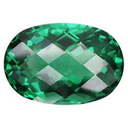 41.07ct Surprising Oval Checkerboard Green Amethyst (GEM-23050)