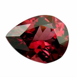 .45ct Interesting Pear Cut Red Brown Pyrope Garnet (GMR-1036)
