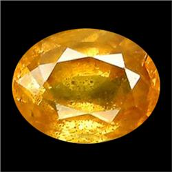 0.87ct VS Oval Cut Top Gold Yellow Sapphire  (GEM-17421)