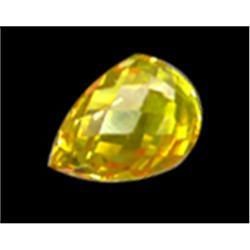 .25ct Dazzling Top Golden Sapphire Briolette (GMR-0587)