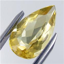 4.08ct Golden Yellow Beryl Brazil Appraised $4k (GEM-18745)