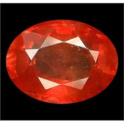 1.23ct Orange & Pink Padparadsha Sapphire Oval Cut (GEM-7183)