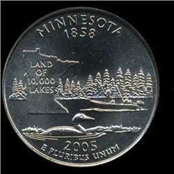 2005D Minnesota SMS Quarter ICG MS69 (COI-6369)