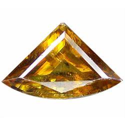1.67ct Attractive Trilliant Golden Yellow Sphene (GEM-14054)