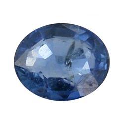 0.39ct Blue Natural Sapphire Oval Facet (GEM-0281A)