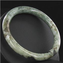 Rare Green Jade Bracelet   (JEW-360B)