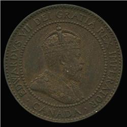 1909 Canada 1c Hi Grade (COI-6691)