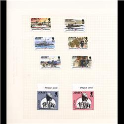 Jersey Mint Margin Single Album Page 8 Pcs (STM-0671)