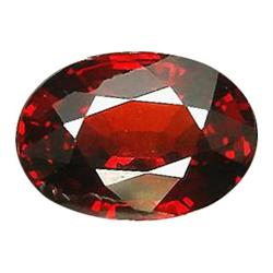 3.66ct Oval Cut Mandarin Spessartite Garnet   (GEM-22879)