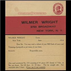 1911 US McKinley 1c Postcard Mint (STM-0626)