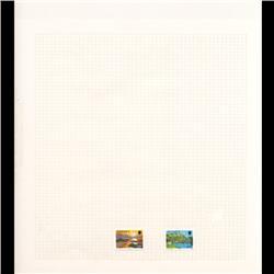 Jersey Mint Single Album Page 2 Pcs (STM-0669)