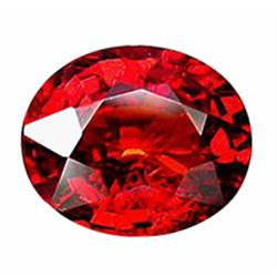 3.22ct Natural Red Spessartite Garnet Africa Ravishing   (GEM-22779)