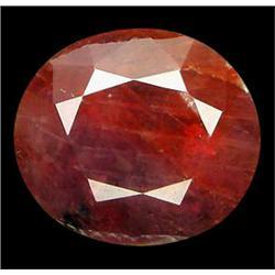 15.20ct Oval Cut Bi-Color Sapphire Tanzania   (GEM-22874)