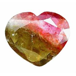 11.50ct Beauty Watermelon Natural Tourmaline Heart     (GEM-22782)
