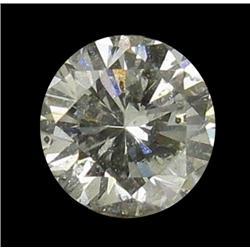 0.3ct White Diamond Hi Grade Round Cut (GEM-26180)