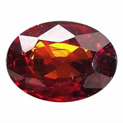 2.25ct Splendid Oval Top Orange Spessartite Granet (GEM-19528)