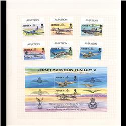 Jersey Mint Margin Single Album Page 8 Pcs (STM-0659)