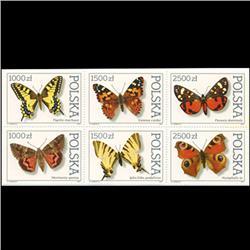 1991 Poland Block of 6 Different Mint (STM-0639)