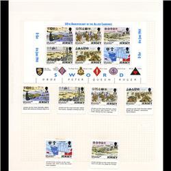 Jersey Mint Margin Single Album Page 12 Pcs (STM-0665)