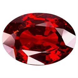 7.87ct Alluring Natural Orange Red Spessartine Garnet   (GEM-22852)