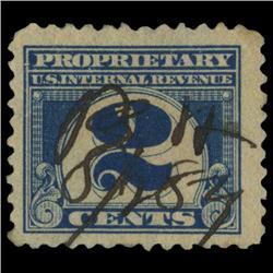 1919 US 2c Proprietary Revenue Stamp NICE (STM-0559)