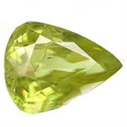 2.35ct Amazing Natural Nice Pear Afghan Green Sphene (GEM-24859)