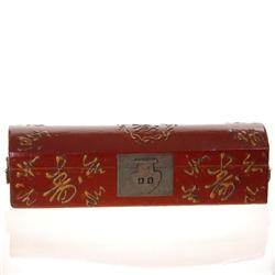 Antique Chinese Leather Covered Box (ANT-001)