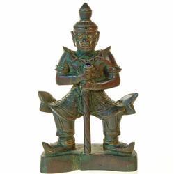 Antique Hand Carved Teak Hanuman (ANT-145)