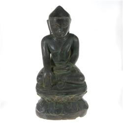Antique Bronze Burma Ava Buddha 1700s  (ANT-327)