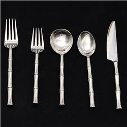 Hand Forged Stainless Flat Ware Set 20 Pcs (DEC-324)