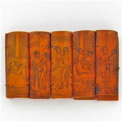 Hand Carved Bone Kamasutra Story Set (CLB-318)