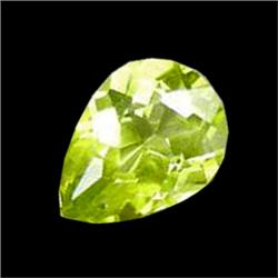 0.76ct Pear Green Peridot VVS (GEM-16867B)