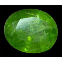 4.5ct Natural Green Oval Peridot Gemstone Pakistan (GEM-24636)