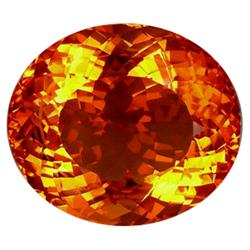 165.35ct Museum Size Valuable Oval Madeira Citrine   (GEM-23698)