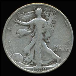 1920D Walking Liberty Half Dollar High Grade (COI-6319)