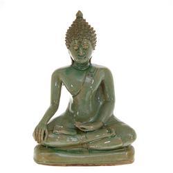 Celadon Large Thai Buddha (CLB-334)