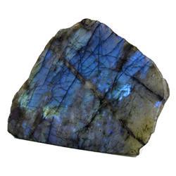 """9400ct Gem Grade HUGE Labradorite Polished Slab Neon Peacock Colors 8"""" (GEM-23059)"""