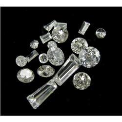 .7ct Lot Mixed Cut Hi-Grade White Diamonds (GEM-26150)