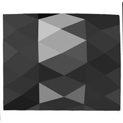 6.03 Natural Rose Cut Cushion Black Diamond Hi Grade (GEM-17227)