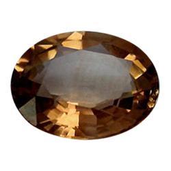 5.30ct 100% Natural Hot Lush Imperial Topaz Oval Cut Appraisal Estimate $13250 (GEM-24596)