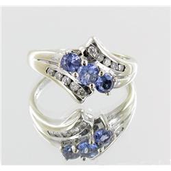 20ctw Stinning Ladies Tanzanite & Diamond 14k Ring (JEW-2029)