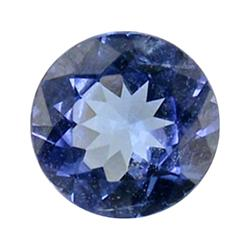 0.62ct Natural Brilliant Blue Tanzanite Round Hi Grade  (GEM-25572)