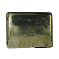 39.13ct Fabulous Cut & Polished Pyrite Gem Square (GEM-22085)